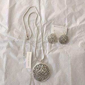 Etienne Aigner Necklace & Earring set